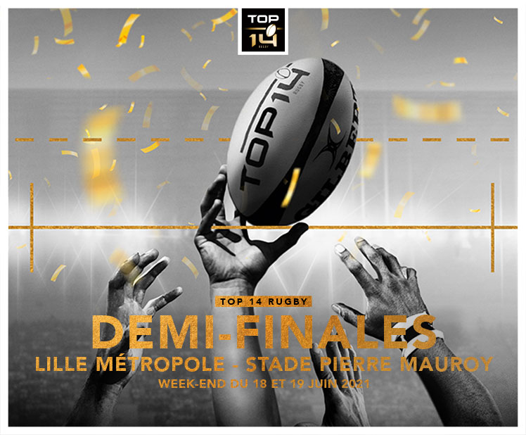DEMI-FINALES DU TOP 14